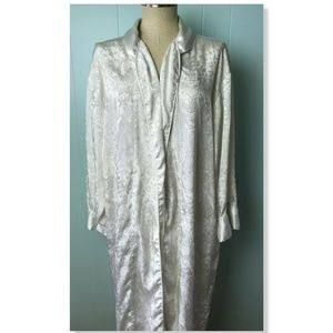 Vtg 90s Women's Victoria's Secret Robe Gold Label